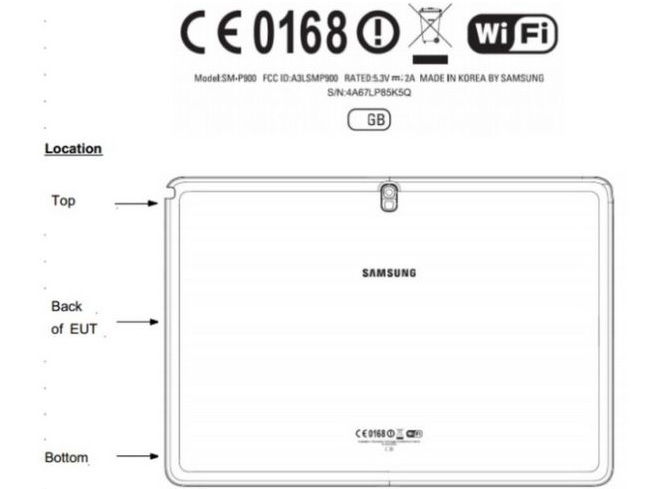 Samsung Galaxy Note 12.2 Spotted At the FCC