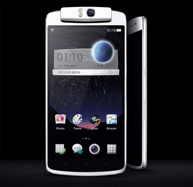 Oppo N1 In Action (Video)