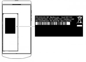 Blackberry P9982 Spotted at the FCC