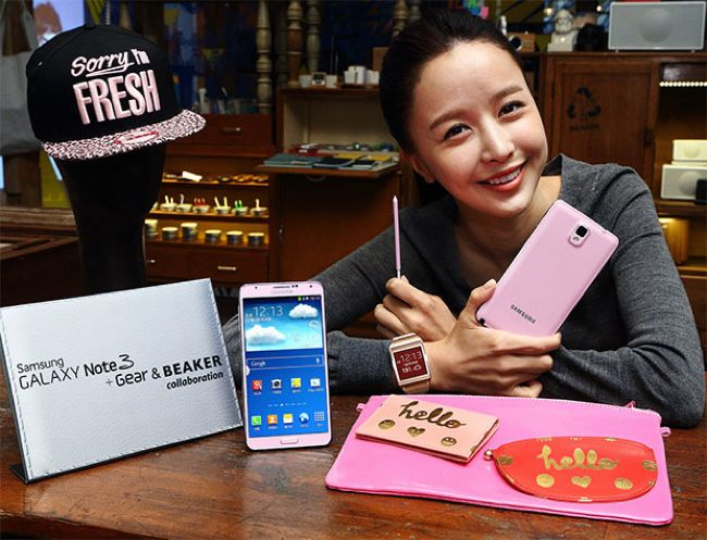 Pink Galaxy Note 3 Launched In South Korea
