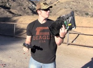 Sony PlayStation 4 Gets Shot By 50 Caliber Sniper Rifle