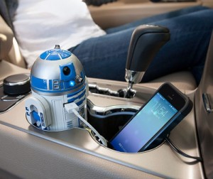 R2-D2 USB Car Charger (Video)