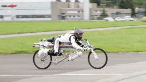 The 285 KM Per Hour Rocket Powered Bicycle (Video)