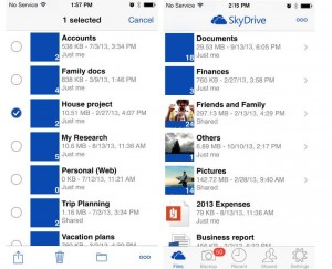 SkyDrive for iOS Updated with Automatic Camera Backup Support