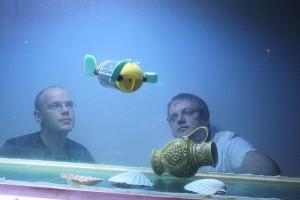 U-Cat, The Underwater Robot Turtle (Video)