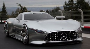 Mercedes Benz AMG Vision Gran Turismo Poses For The Camera