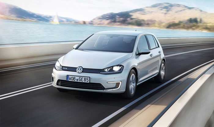 Volkswagen e-Golf Makes North American Debut This Month