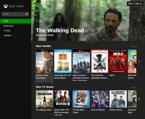 Microsoft's Xbox Video For Web Launched