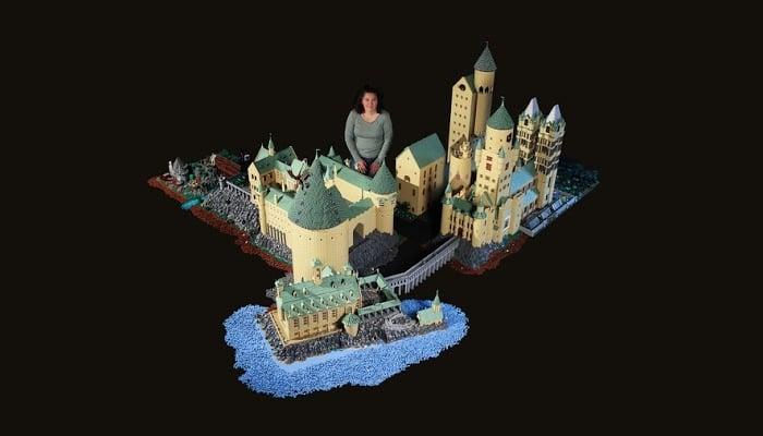 Alice Finch lego hogwarts