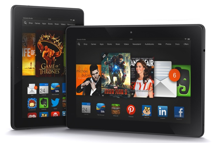 Amazon Tries To Sell More Kindle Fire HDX Tablets With