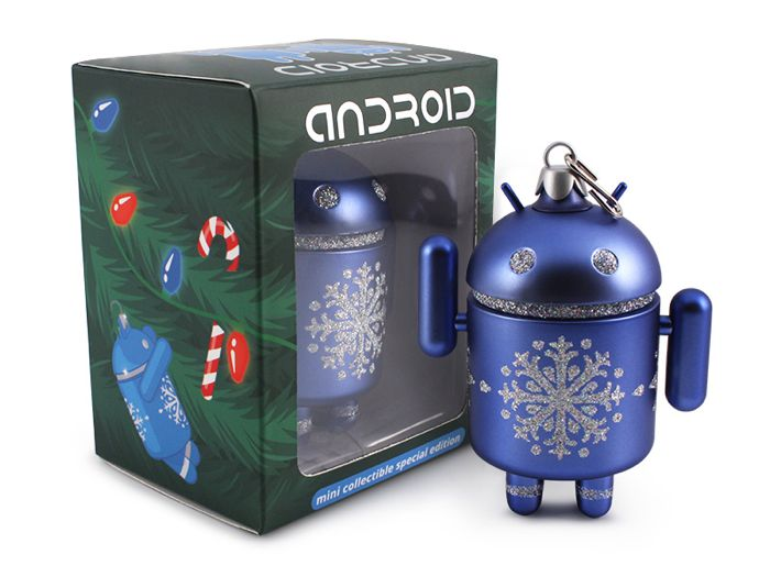 Android Christmas Tree Ornaments
