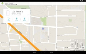 Android Device Manager Available in Google Play Store