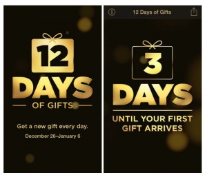 Apple 12 Days Of Digital Gifts App Available In U.S. For The First Time