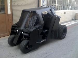 Batman Tumbler Golf Cart Sells For $17,500 On eBay