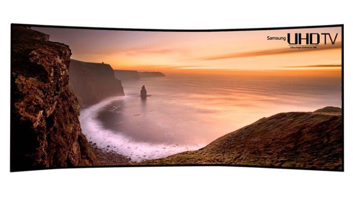 Samsung 105 Inch Curved Ultra HDTV