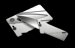 Cardsharp4 Metal Folding Credit Card Sized Knife Unveiled