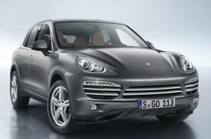 Porsche Cayenne Platinum Edition Announced