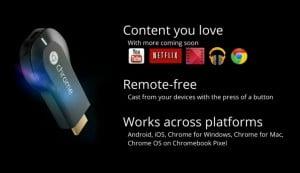 Chromecast Apps Incoming
