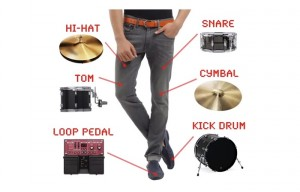 Awesome Drumpants Make You A Walking One Man Band Using Arduino (video)