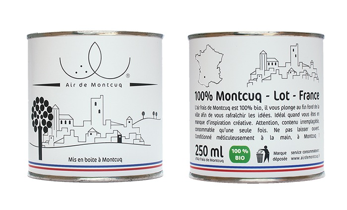 French Student Starts Selling 250ml Cans Of French Air