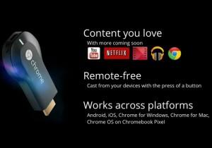 Google Chromecast Receives 10 New Applications
