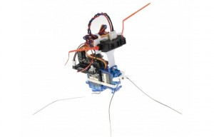 Insectbot Arduino Based 2-Servo Walker Robot Kit (video)