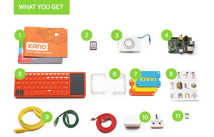 Kano Raspberry Pi Computer Kit