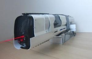 LaserRifle Prototype Mk I Burns Through Glass, Raw Pork, Bulbs And More (video)