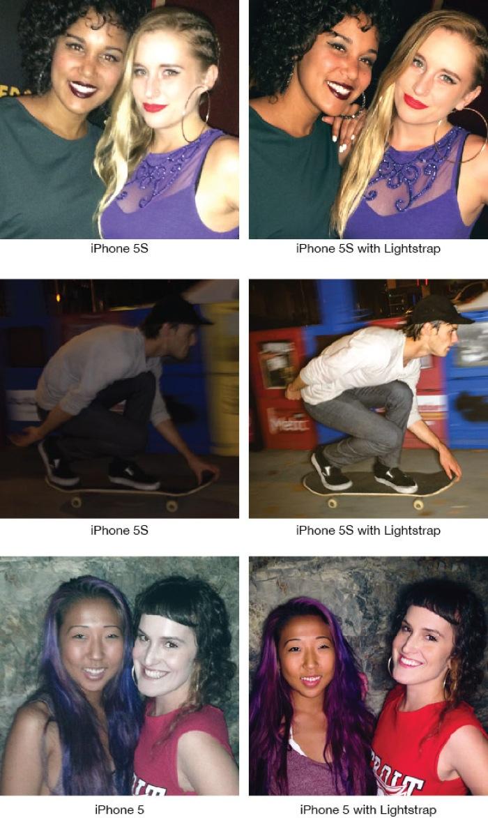 Lightstrap iPhone flash