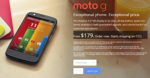 Moto G Goes Open Source