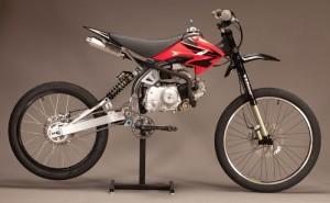 Motoped Motorised Bike Kit Is The Missing Link Between Motorbikes And Bikes (video)
