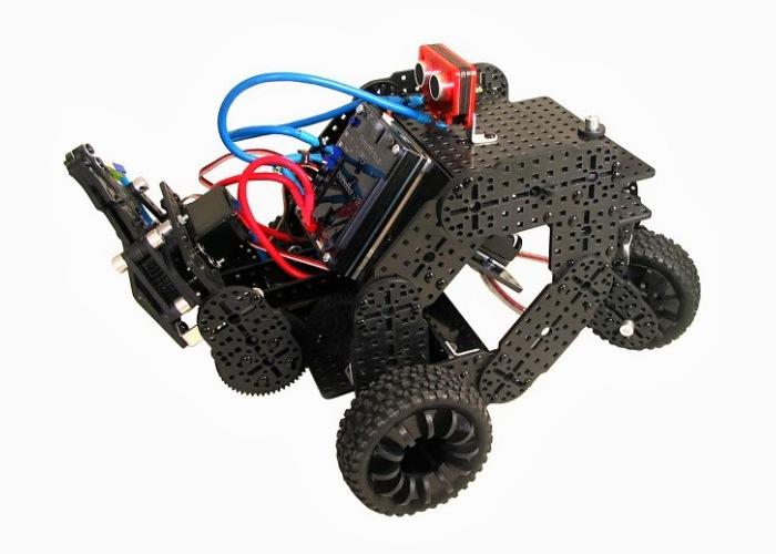 Multiplo Open Source Robotics Kits (video)
