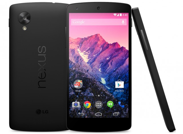 Nexus 5 Black Back