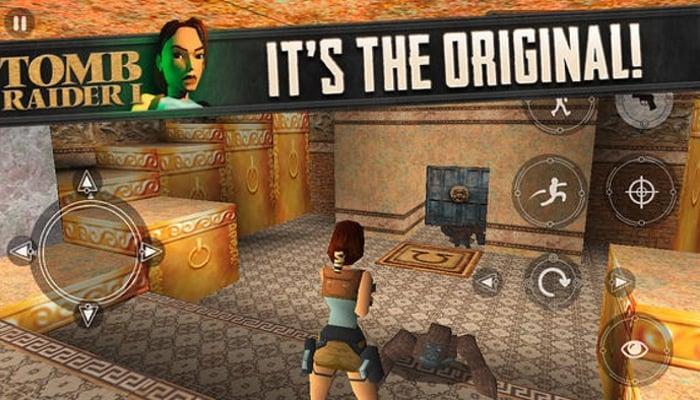 Original Tomb Raider 1 iOS