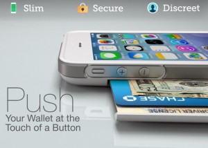 PUSH iPhone Wallet Lets You Access Your Cards At The Touch of a Button (video)