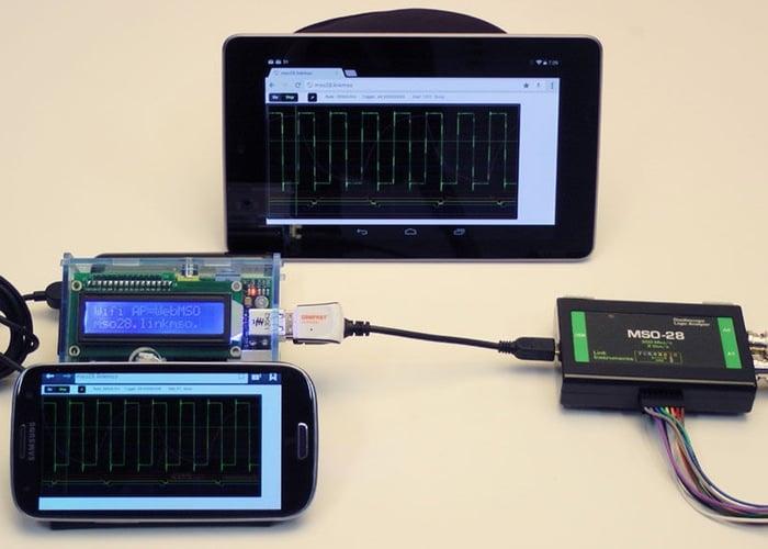 PiMSO Raspberry Pi Oscilloscope