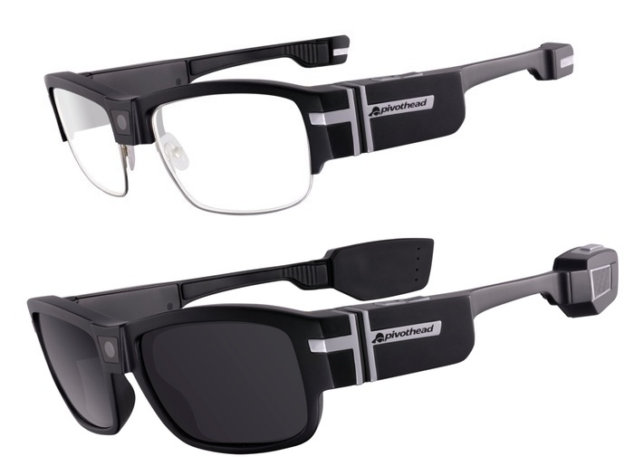 685527e1848a Pivothead SMART Modular Smart Glasses Go Into Production (video)