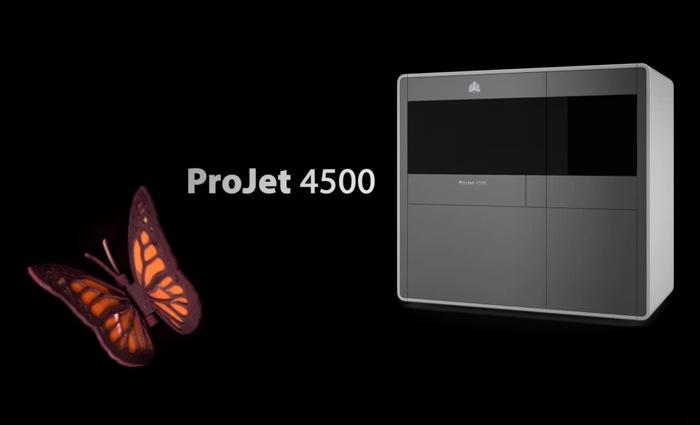 ProJet 4500 Colour 3D Printing