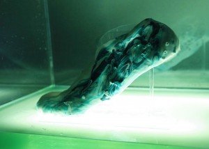 Protocells Self-Repairing 3D Printed Trainers Created Using Synthetic Biological Cells