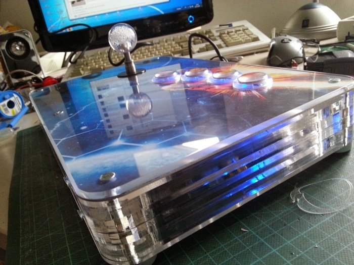 Raspberry Pi Arcade Stick