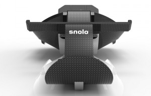Carbon Fibre Snolo Stealth-X Sled Lets You Sledge In Style For $2,550