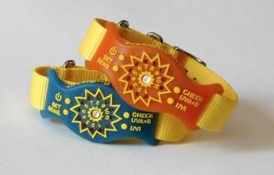 SunFriend UV Monitoring Wristbands (video)