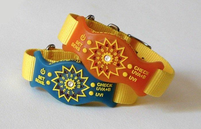 UV Monitoring Wristbands
