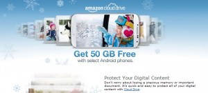Amazon Offering 50GB Free Cloud Storage With Selected Android Phones