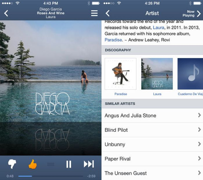 Pandora For iOS Updated