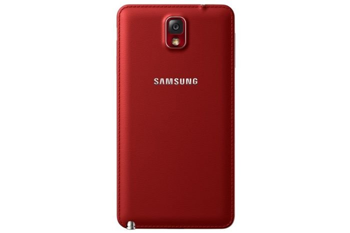 Red Galaxy Note 3