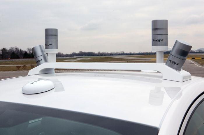 Ford Fusion Hybrid Driverless Car