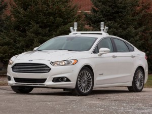 Ford Fusion Hybrid Driverless Car Unveiled