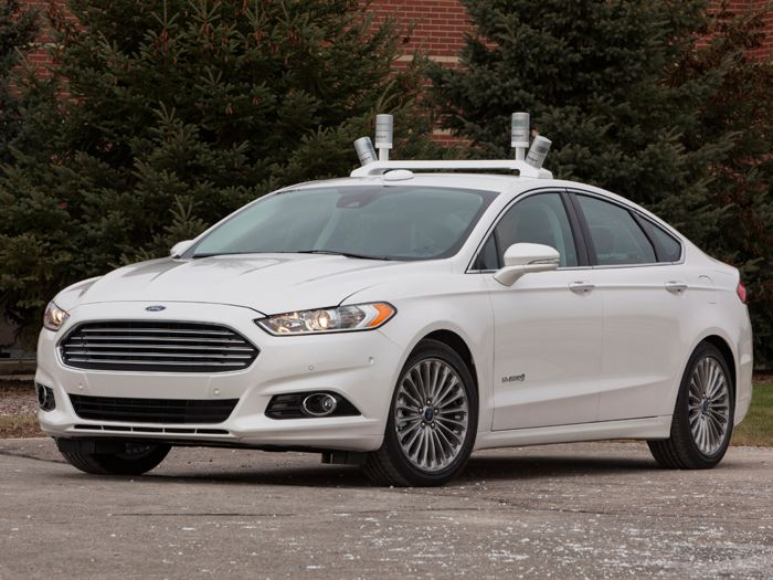 Ford Fusion Hybrid Driverless Car