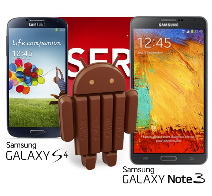 Android 4.4 KitKat Update Coming to Samsung Galaxy S4 and Note 3 In January, According to a French Carrier